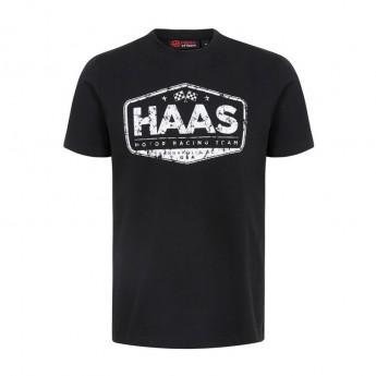 Haas F1 Team pánské tričko Graphic black 2018