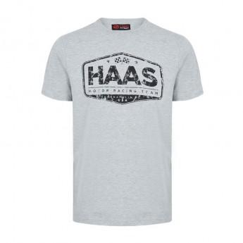Haas F1 Team pánské tričko Graphic grey 2018