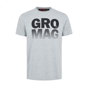 Haas F1 Team pánské tričko Drivers grey 2018