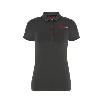 Haas F1 Team dámské polo tričko Logo grey 2018