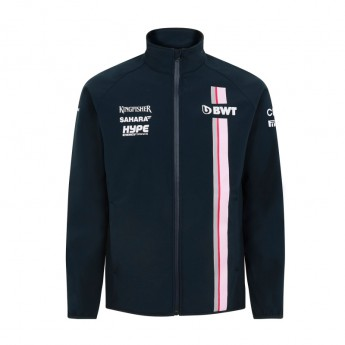 Force India pánská bunda Softshell blue Sahara F1 Team 2018