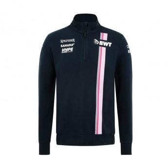 Force India pánská mikina blue Sahara F1 Team 2018