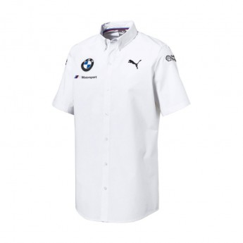 Puma BMW Motorsport pánská košile white 2018