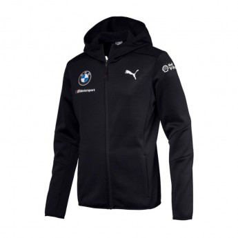 BMW Motorsport pánská bunda s kapucí blue Midlayer Team 2018