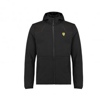 Ferrari pánská bunda s kapucí softshell SF black F1 Team 2018