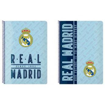 Real Madrid blok/sešit A4 since 1902 light blue