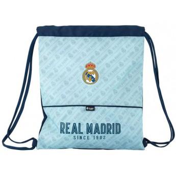 Real Madrid pytlík gym bag since 1902 light blue