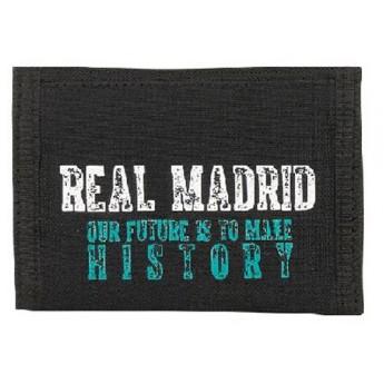 Real Madrid rozkládací peněženka our future is to male history black