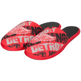 Detroit Red Wings pantofle Digital Print