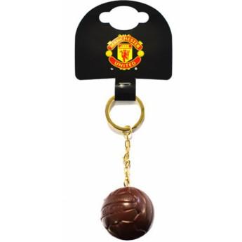 Manchester United přívěšek na klíče ball retro