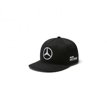 Mercedes AMG Petronas čepice flat kšiltovka Lewis Hamilton Brim black F1 Team 2018