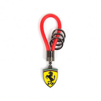 Ferrari přívěšek Rubber Strap F1 Team Red 2018