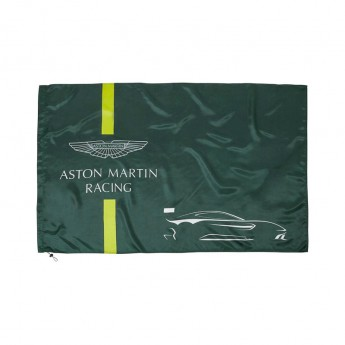 Aston Martin vlajka green 2018