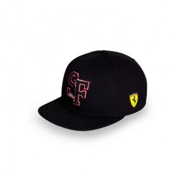 Ferrari čepice flat kšiltovka Brim SF Black F1 Team 2018
