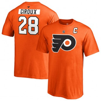 Philadelphia Flyers dětské tričko orange #28 Claude Giroux Stack Logo Name & Number