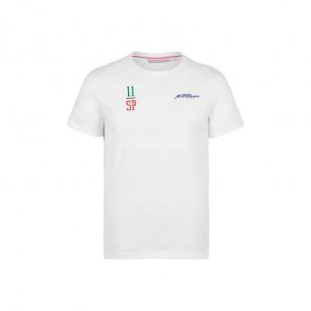 Force India pánské tričko Checo white Sahara F1 Team 2018