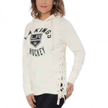 Los Angeles Kings dámská mikina white Weekend Raglan Pullover Hoodie