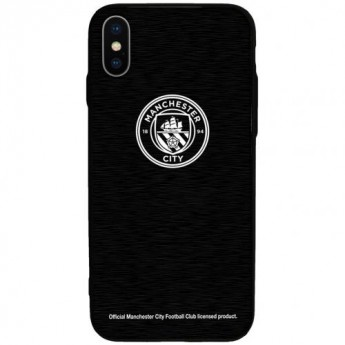 Manchester City Pouzdro na mobil iPhone X Aluminium Case
