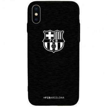 FC Barcelona Pouzdro na mobil iPhone X Aluminium Case