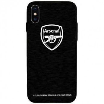 FC Arsenal Pouzdro na mobil iPhone X Aluminium Case