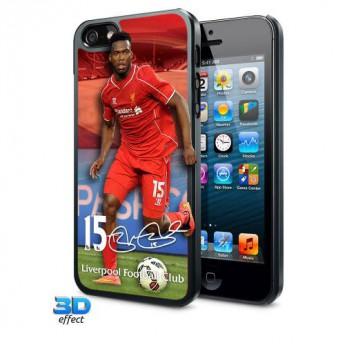 FC Liverpool Pouzdro na mobil iPhone 5 / 5S / 5SE Hard Case 3D Sturridge