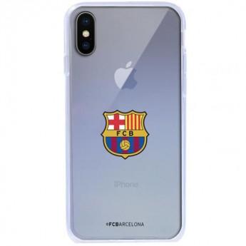 FC Barcelona Pouzdro na mobil iPhone X TPU Case