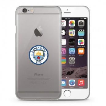 Manchester City Pouzdro na mobil iPhone 6 / 6S TPU Case