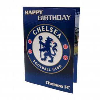 FC Chelsea narozeninové přání Musical Birthday Card