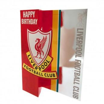 FC Liverpool narozeninové přání Birthday Card