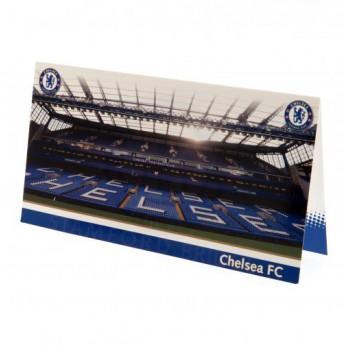 FC Chelsea narozeninové přání Birthday Card Stadium