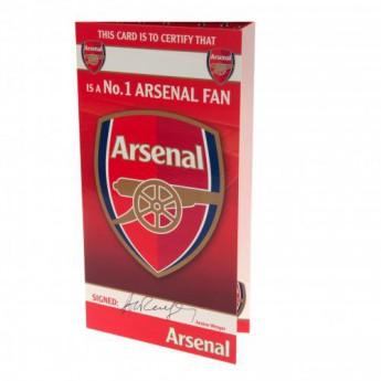 FC Arsenal narozeninové přání Birthday Card No 1 Fan