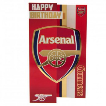 FC Arsenal narozeninové přání Birthday Card