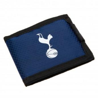 Tottenham Hotspur peněženka z nylonu blue Nylon Wallet