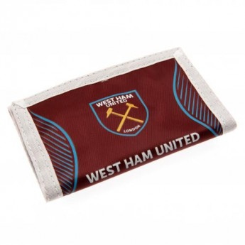 West Ham United peněženka z nylonu Nylon Wallet logo