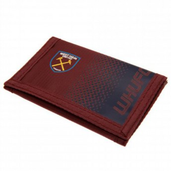 West Ham United peněženka z nylonu Nylon Wallet