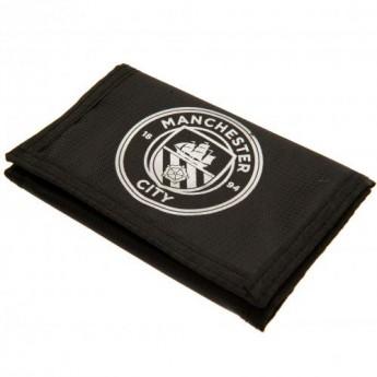 Manchester City peněženka z nylonu black Nylon Wallet