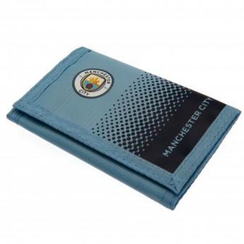 Manchester City peněženka z nylonu Nylon Wallet