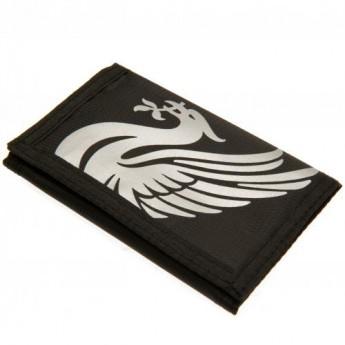 FC Liverpool peněženka z nylonu black Nylon Wallet