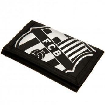 FC Barcelona peněženka z nylonu black Nylon Wallet