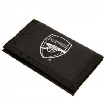 FC Arsenal peněženka z nylonu black Nylon Wallet