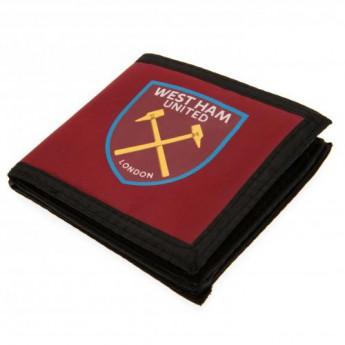 West Ham United peněženka z nylonu Canvas Wallet