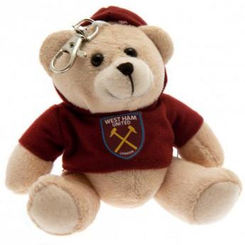 West Ham United plyšový medvídek Bag Buddy Bear