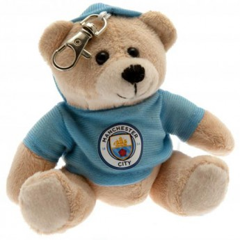 Manchester City plyšový medvídek Bag Buddy Bear