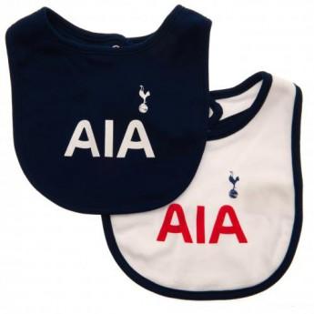 Tottenham Hotspur dětský bryndák 2 Pack Bibs ST