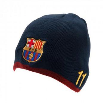 FC Barcelona zimní kulich Knitted Neymar