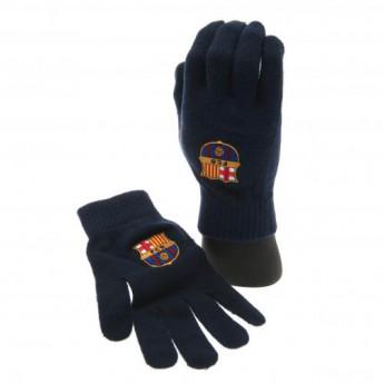 FC Barcelona pánské rukavice Knitted Gloves Adult