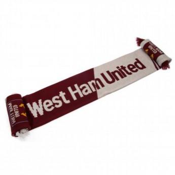 West Ham United zimní šála Scarf VT