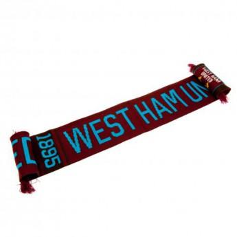 West Ham United zimní šála Scarf NR