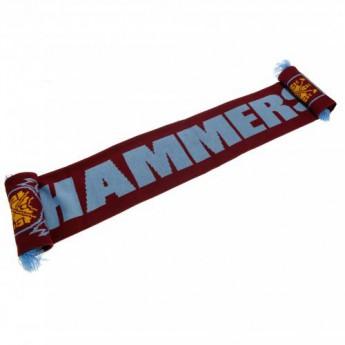 West Ham United zimní šála Scarf HM