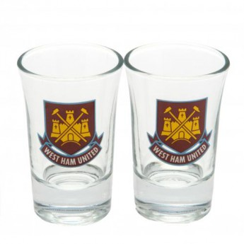 West Ham United panák štamprle 2pk Shot Glass Set CT